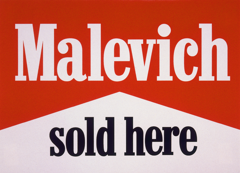 MALEVICH SOLD HERE, 1989
