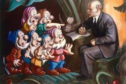 LENIN AND SEVEN DWARFS, 1986