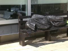 Timothy Schmalz, Homeless Jesus (2013–14)