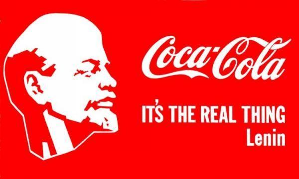 artandyou.ru. Александр Косолапов. «Lenin —  Coka-Cola». 1983 г.