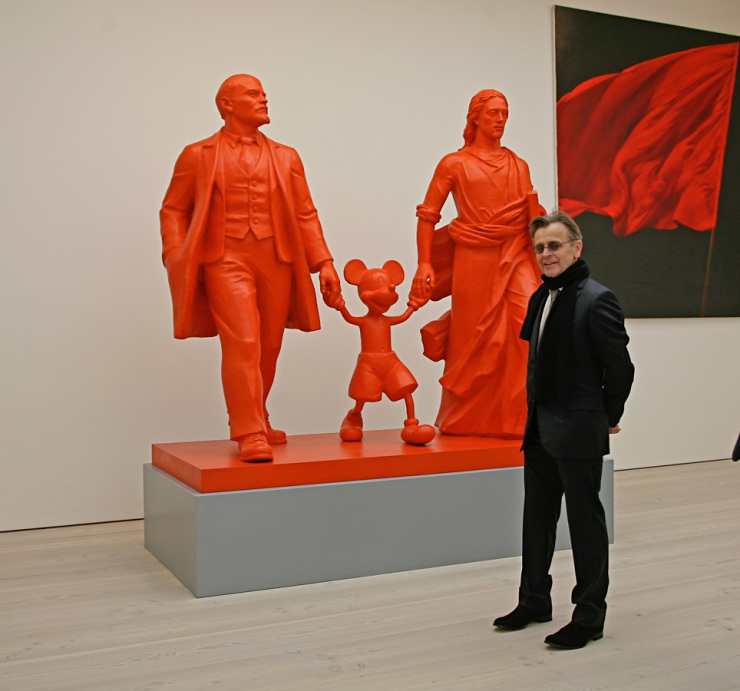 Kosolapov, Saatchi Gallery, London, Mikhail Baryshnikov, Hero, Leader, God, Михаил Барышников,  Косолапов, 2014