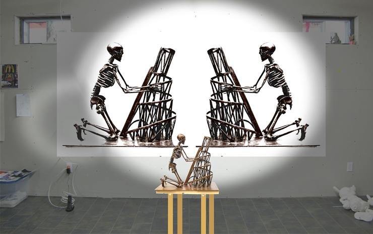 Tatlin — Death of Avantgarde, 2011, Installation