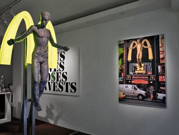 Alexander KOSOLAPOV. The Angel of Cholesterol, Galerie Vallois, Paris, 2010