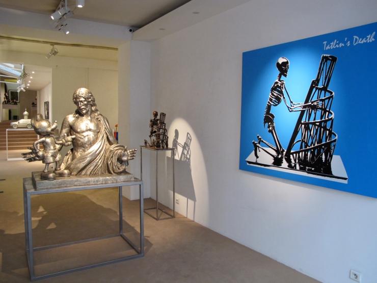 Alexander KOSOLAPOV. Galerie Vallois Sculptures 2014