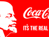 LENIN — COCA-COLA, 1990, Screenprint