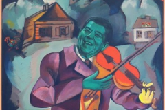 Fiddler on the Roofl-AK-1985-Oil-on-canvas-_0