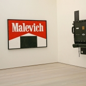 Kosolapov, Saatchi Gallery, London, 2014, Marlboro Malevich