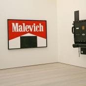 Kosolapov, Saatchi Gallery, London, 2014, Marlboro Malevich