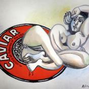 Alexander-Kosolapov-Galerie-Vallois-Paris-Caviar-Picasso