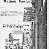 KAZIMIR\'s PASSIONS, 1982