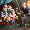 LENIN AND SEVEN DWARFS, 1986