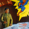 STALIN AND SPIDERMAN, 1990