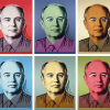 GORBY-MAO series (six paintings), 1991