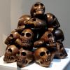NATURE MORTE, (the sculls, grenade and coca-cola cans), 2007