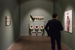 The Moscow Museum of Modern Art presents «Alexander Kosolapov. Lenin Coca-Cola»; 28 NOVEMBER 2017; Открытие выставки «Александр Косолапов. Ленин и Кока-кола» в Московском музее современного искусства; 28 ноября 2017; Photo: George Lesskis