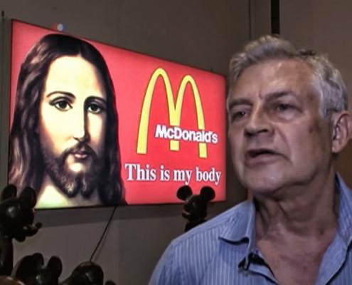 Художник Александр Косолапов об искусстве, вандализме и впечатлительных религиозных активистах